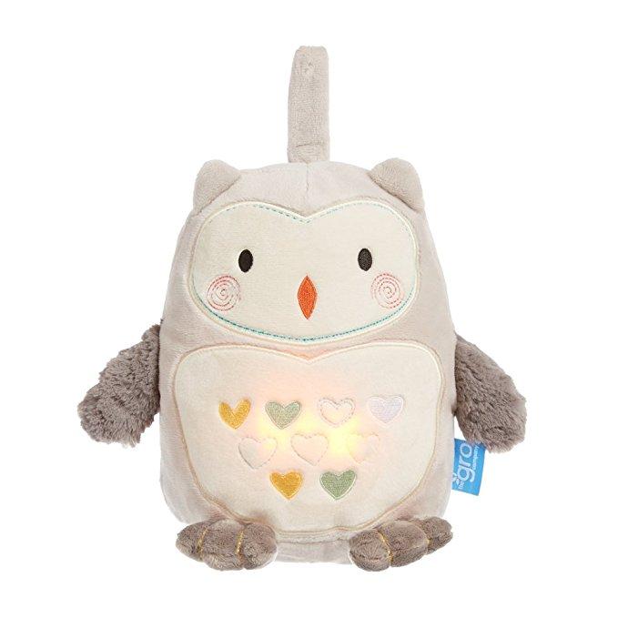Peluche son et lumière Grobag Ollie the Owl