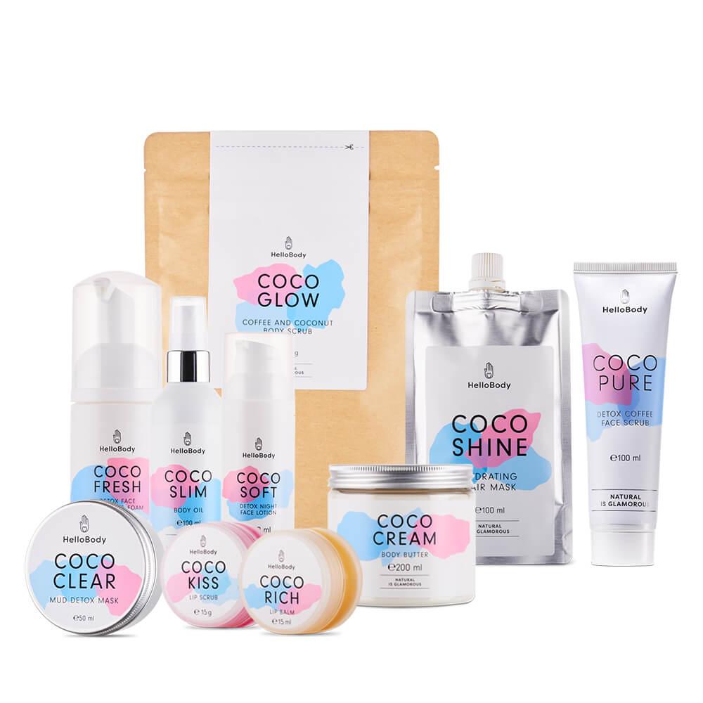 Set de produits cosmétiques Coco Viva