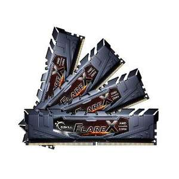 Kit RAM DDR4 G.Skill Flare X Black - 32Go (4 x 8Go) 2133 MHz, CAS 15