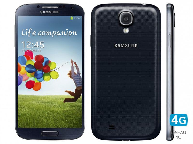 "Smartphone 5""  Samsung Galaxy S4 Noir (Reconditionné)"