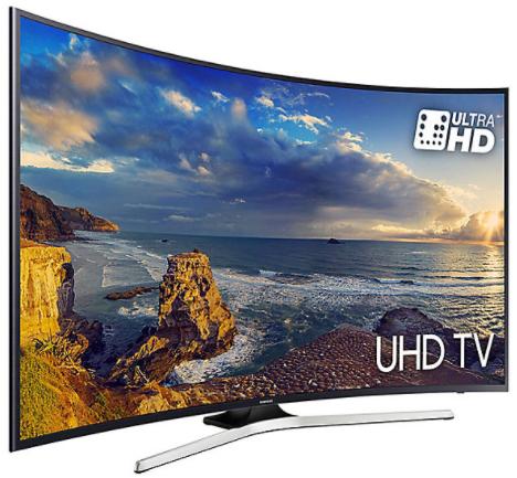 "TV 55"" Samsung UE55MU6220 - LED, 4K UHD, HDR, Incurvée, Smart TV + Câble HDMI"