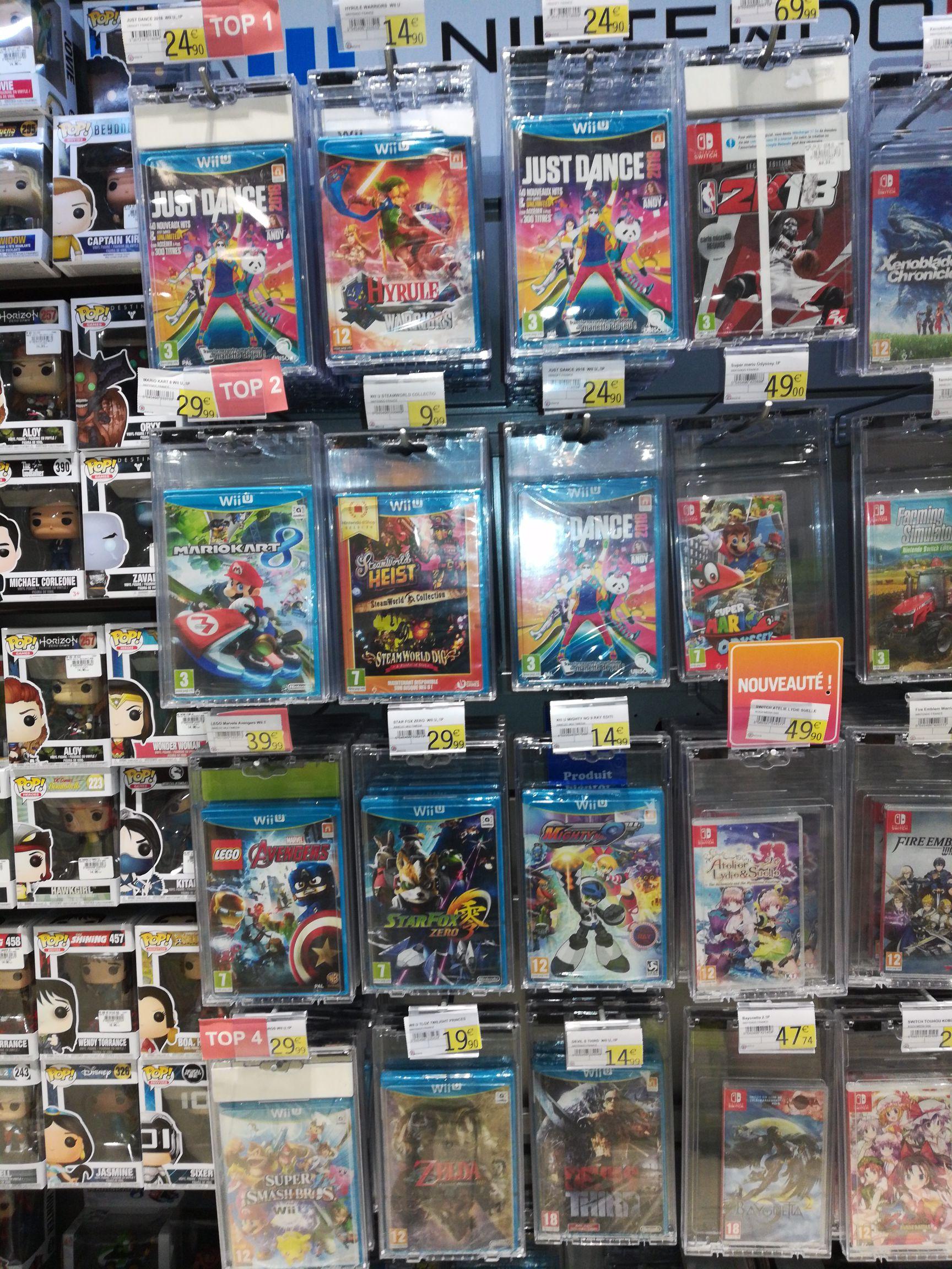 Sélection de jeux Wii U en promotion - Ex: Zelda Hyrule Warriors à 14.90€, The Legend of Zelda: Twilight Princess à 19.90€ - Osny (95)