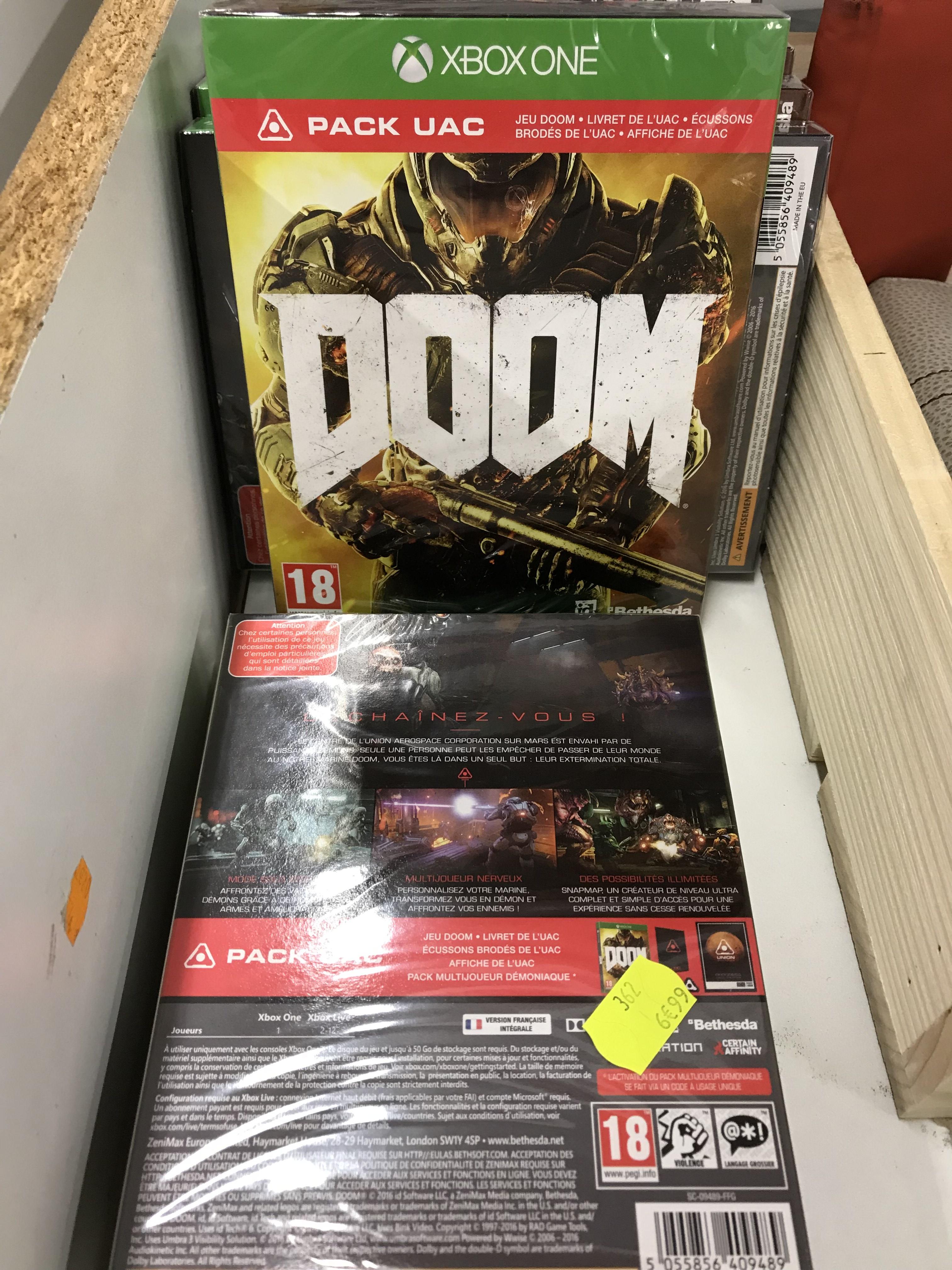 Jeu Doom: Pack UAC pour Xbox One - Max Plus Mans (72)