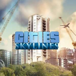 Cities: Skylines à 4.27€ et Cities: Skylines Deluxe Edition à 5.64€ sur PC (Dématérialisé - Steam)