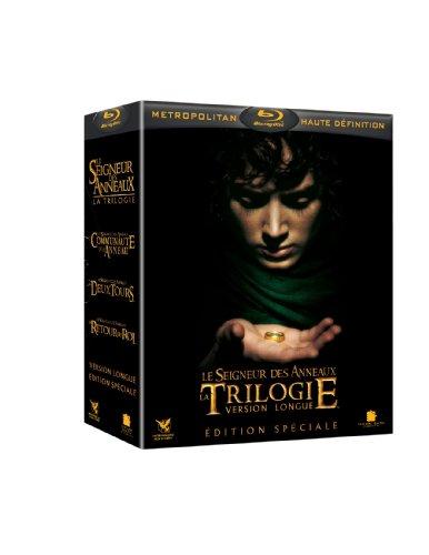 Coffret Blu Ray : La Trilogie Le Seigneur des Anneaux - Version longue, Edition Spéciale
