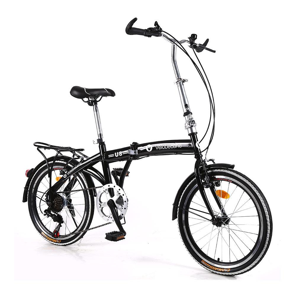 Vélo pliable Velobecane Classic - Noir - 14kg