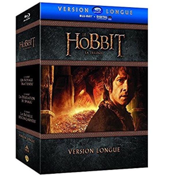Coffret Blu-Ray + DVD Le Hobbit - La Trilogie - Version Longue