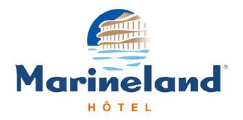 1 nuit en chambre quadruple au Marineland Hotel avec petit déjeuner et accès au parc Marineland pour 2 adultes et 2 enfants