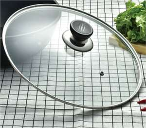 Couvercle en verre - 24 ou 28 cm