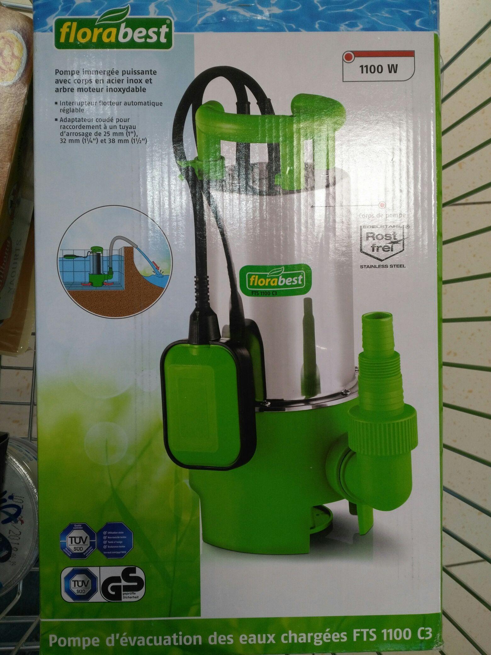 Pompe d'évacuation des eaux chargées - Sainte savine (10)