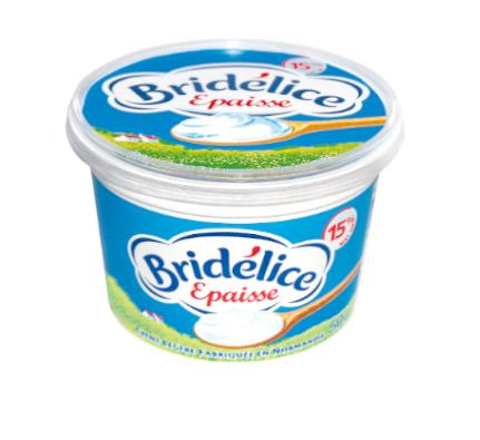 Pot de crème Bridélice 50 cl (40% de remise immédiate et 0.50€ BDR)