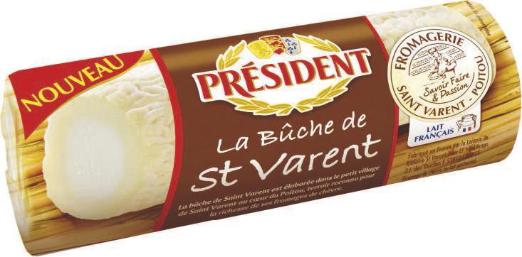 Fromage de chèvre Président Saint-Varent (via Shopmium)