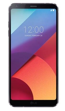 Smartphone LG G6 - 32 Go, 4 Go RAM, Android Nougat 7.0 - Noir (+16.75€ en super points)