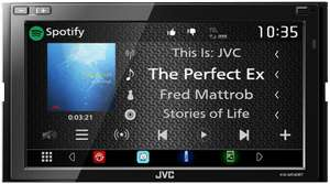 "Autoradio Tactile 6.8"" JVC KW-M540BT - Bluetooth, 4x50W (Frontaliers Suisse)"