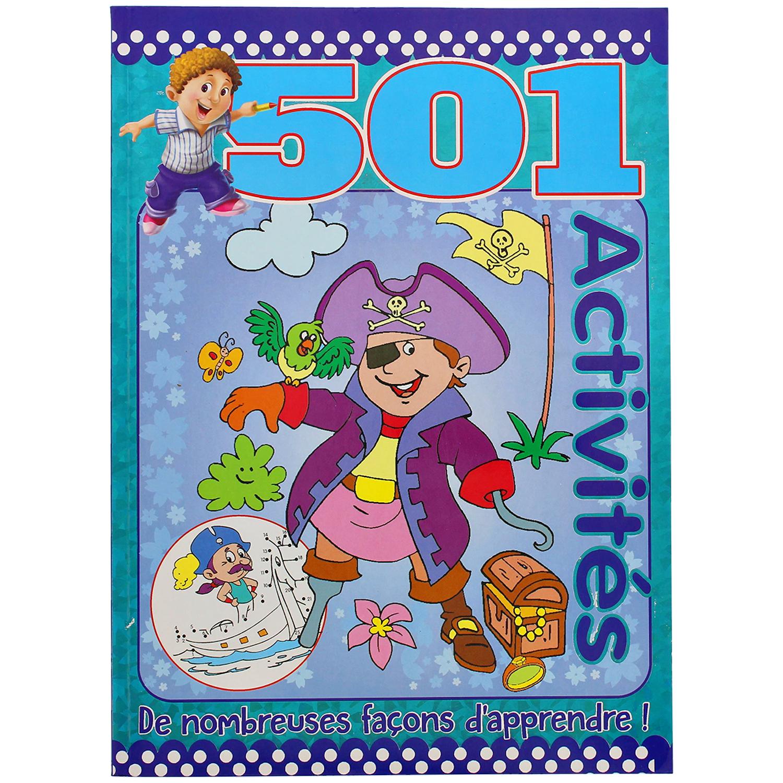 Livre de 501 Activités (plusieurs variantes)