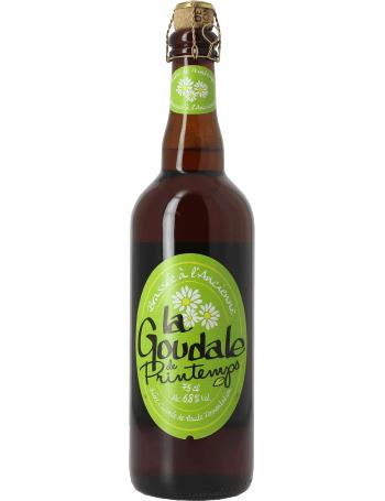 Lot de 2 bouteilles de bière La Goudale de Printemps - 75 cl