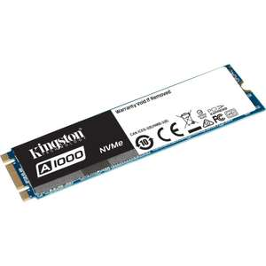 SSD NVME M2 interne Kingston A1000, 240 Go TLC 3D (Type 2280)