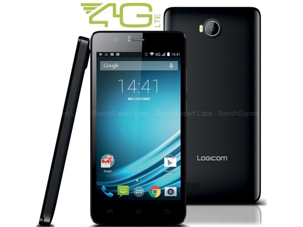 Smartphone 5'' Logicom L-ite 500 Noir - 4G (40€ ODR)
