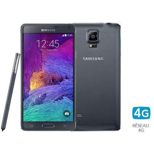 """Smartphone 5,7"""" Galaxy Note 4 32 Go noir"""