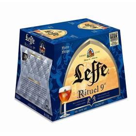 3 Packs de bières d'Abbaye Leffe Rituel - 12x25cl