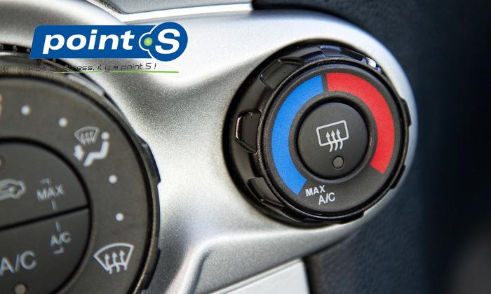 recharge de climatisation voiture dans les Point S de l'Ouest