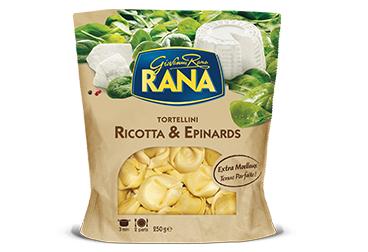 Lot de 2 Paquets de pâtes farcies Giovanni Rana Tortellini Ricotta & Epinards - 250g Leclerc Périgueux (24, via ODR)
