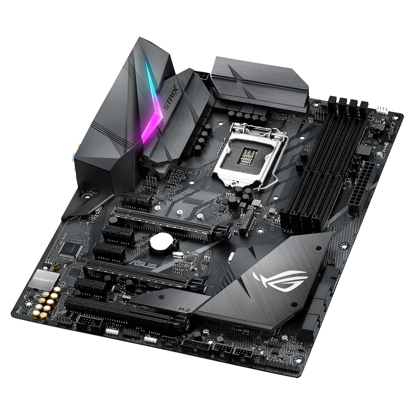 Pack carte mère Asus ROG Strix Z370-F Gaming + Watercooling CoolerMaster MasterLiquid ML240L RGB