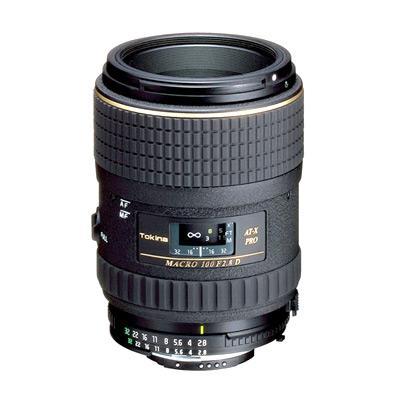 Objectif Tokina 100mm F/2.8 AT-X prod Macro Canon (100€ ODR)