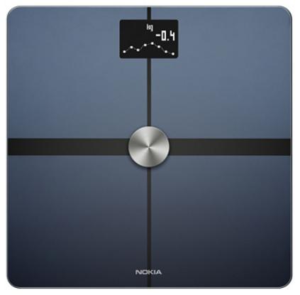 Balance connectée Nokia Body+ - Wifi, analyse composition corporelle