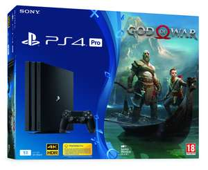 [Precommande] Pack Console Sony PS4 Pro - 1 To + God of War (Frontaliers Suisse)