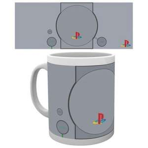 Selections de mugs en promotion - Ex : Mug rétro Playstation (via 0,40€ sur la carte Waaoh)