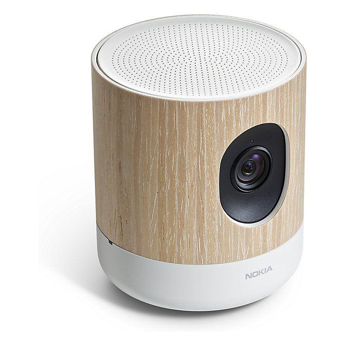 Caméra connectée Nokia Home - Contrôle de la qualité de l'air, Bluetooth