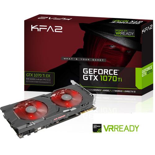 Carte graphique KFA2 GeForce GTX 1070 Ti EX - 8 Go