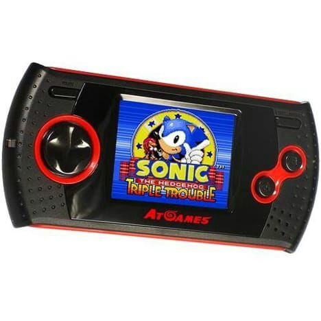 Console Retro Portable Sega Master System & Game Gear Arcade - 30Jeux (+2€ offert sur la carte)