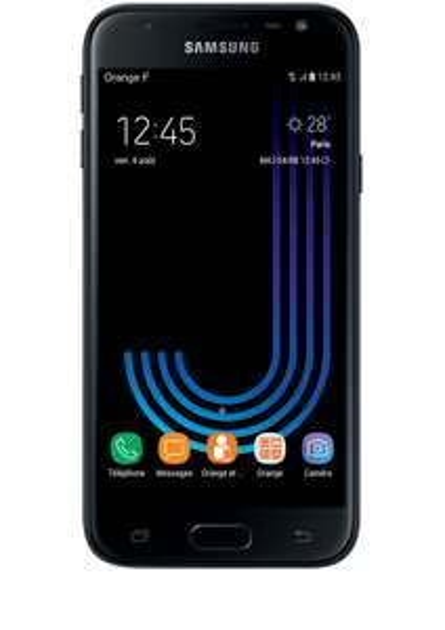 """Smartphone 5"""" Samsung Galaxy J3 (2017) - HD, 16Go de ROM, 2Go de RAM (Plusieurs coloris - via 30€ ODR)"""