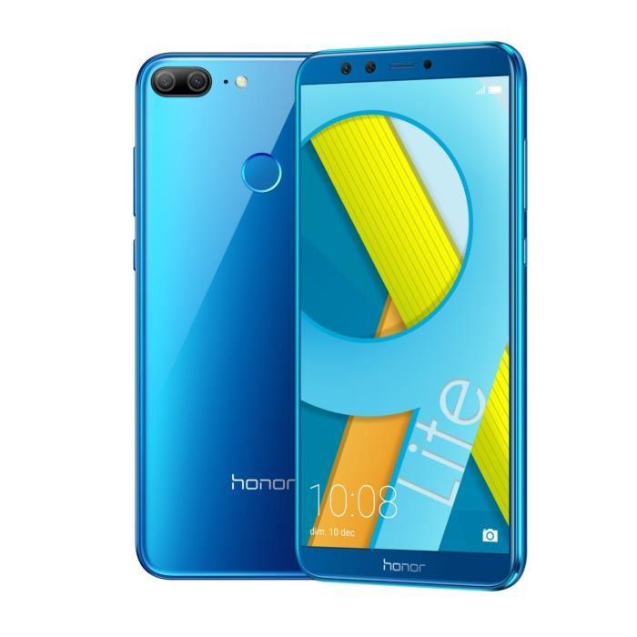 """Smartphone 5.69"""" Honor 9 Lite - Full HD+, 3 Go RAM, 32 Go ROM, 4G (sans B20) + 41.75€ en SuperPoints"""