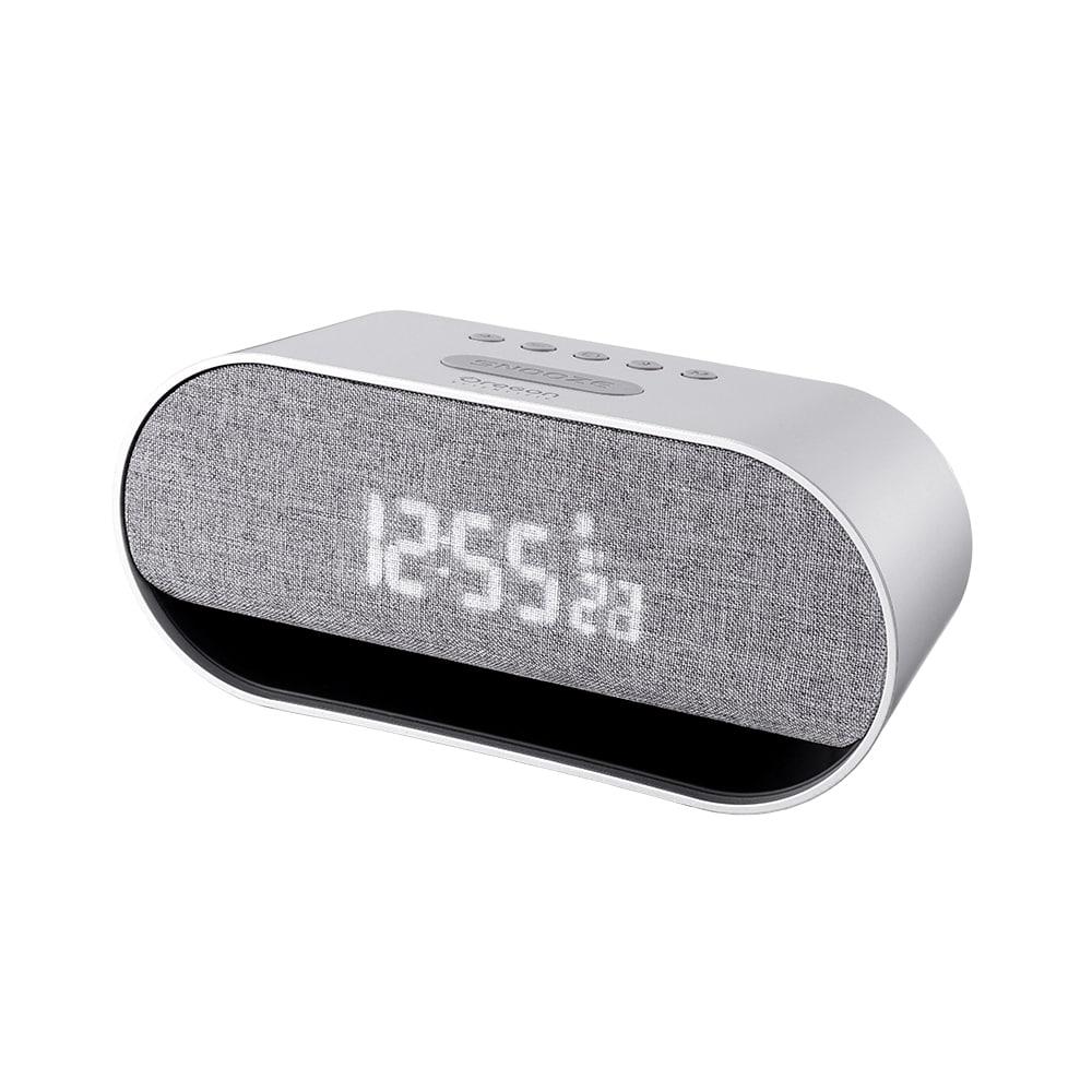 Enceinte réveil numérique avec haut-parleur stéréo Bluetooth - 10W