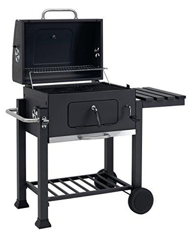 Barbecue au charbon avec roulettes Tepro