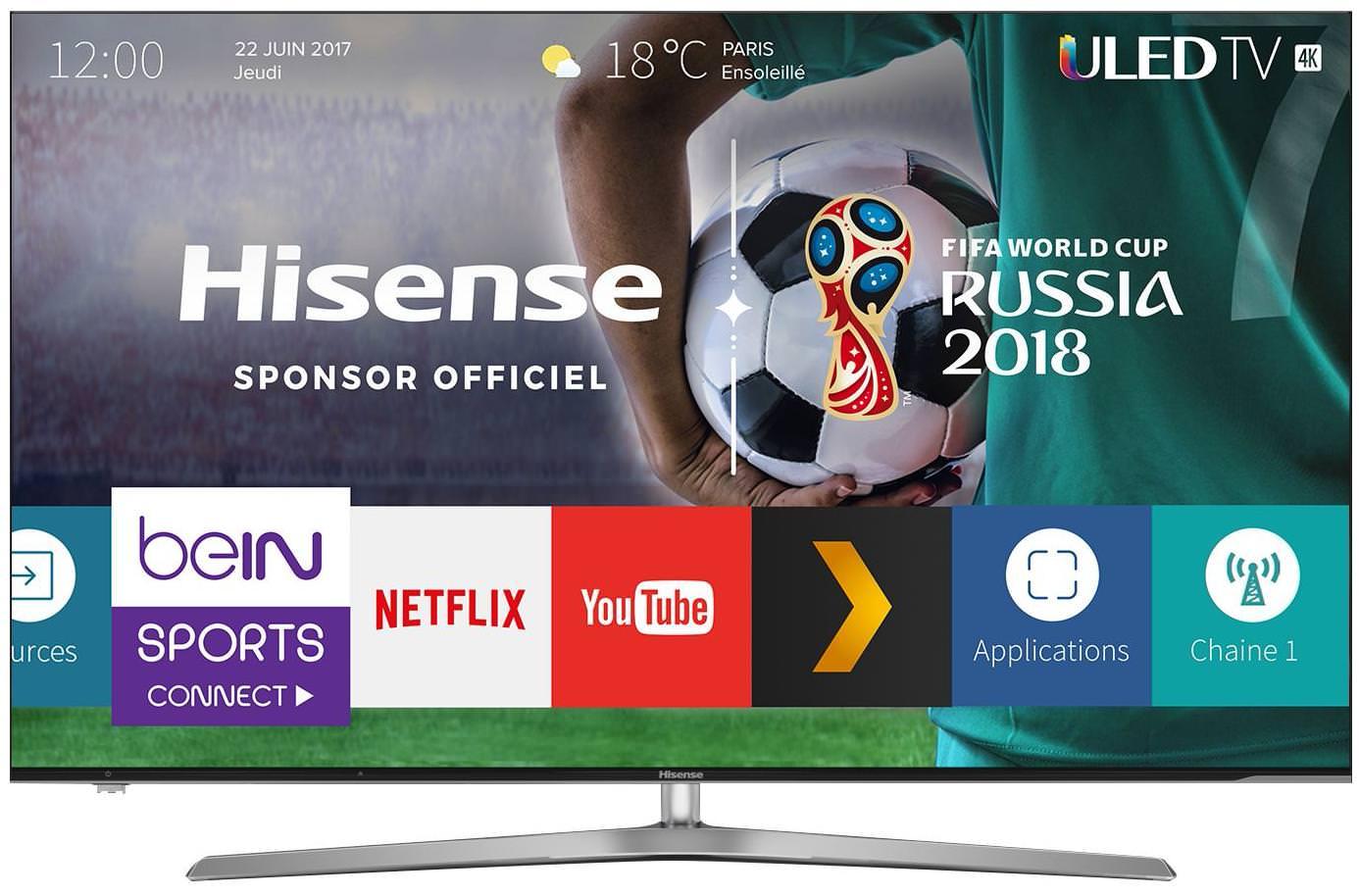 "TV 55"" HiSense H55U7A - 4K UHD"