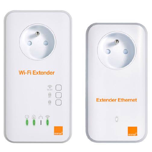 Sélection d'accessoires en destockage - Ex : Wi-Fi Extender Orange 500 Mbits à 25€