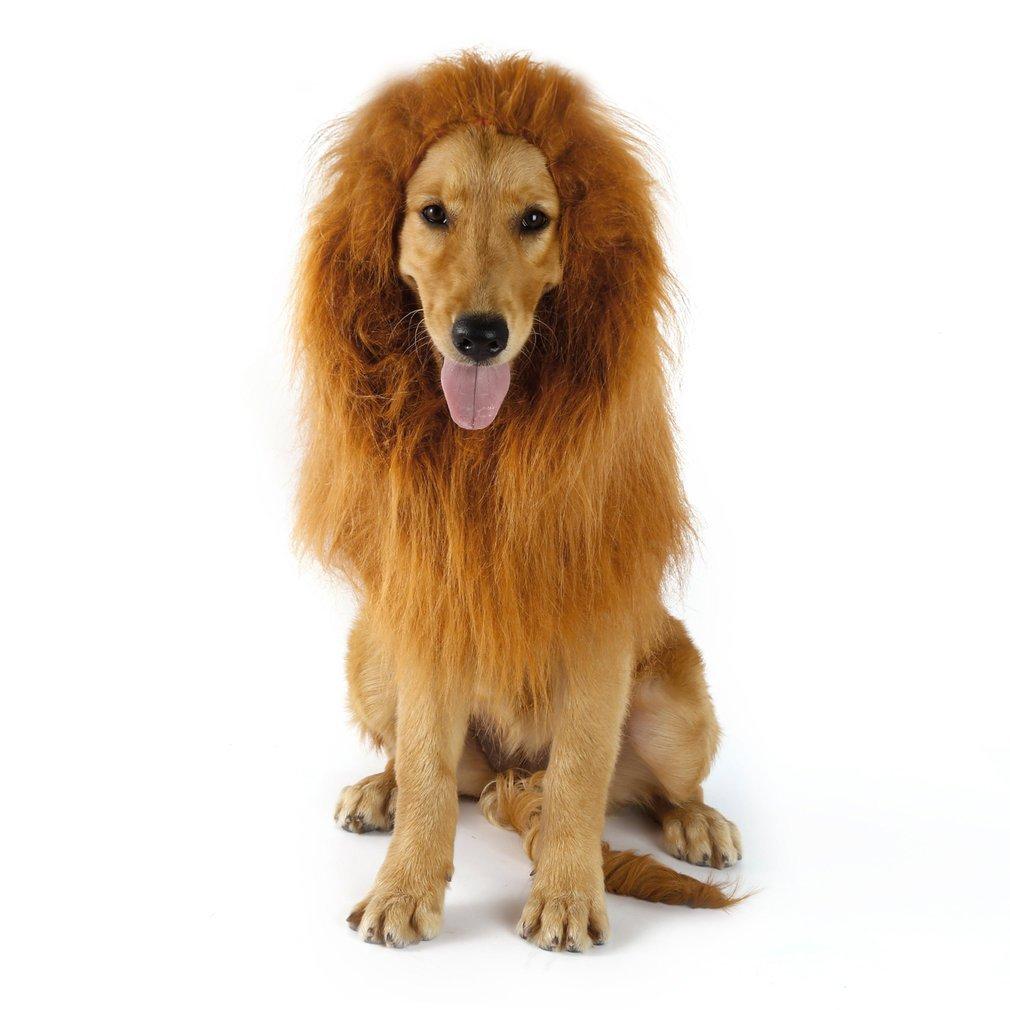 [Panier Plus] Déguisement crinière de Lion pour Chien (vendeur tiers)