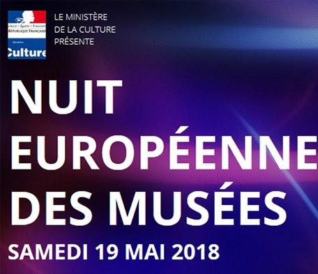 Nuit Européenne des Musées 2018 - Visites Gratuites dans les Muséesparticipants (culturecommunication.gouv.fr)