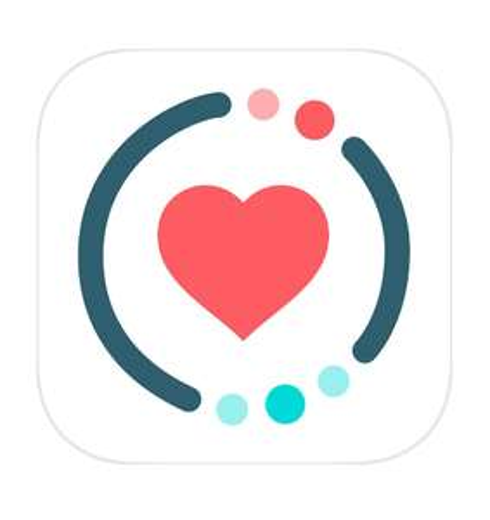 Application calendrier des cyclesiWoman sur iOS
