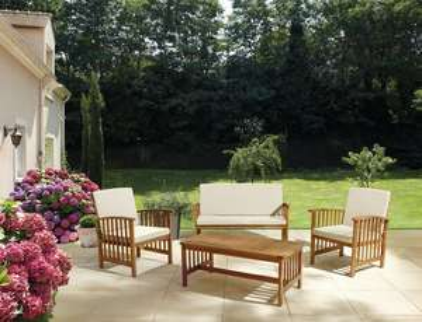 Salon de jardin en bois Kiwi Blooma