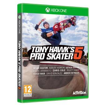 Tony Hawks Pro Skater 5 sur Xbox One (vendeur tiers)