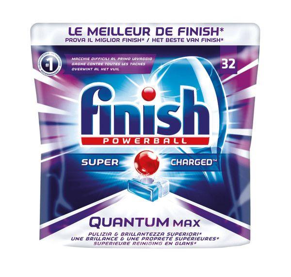 32 Tablettes pour lave-vaisselle Finish Powerball - Différentes Variétés (via 4.73€ sur la carte)