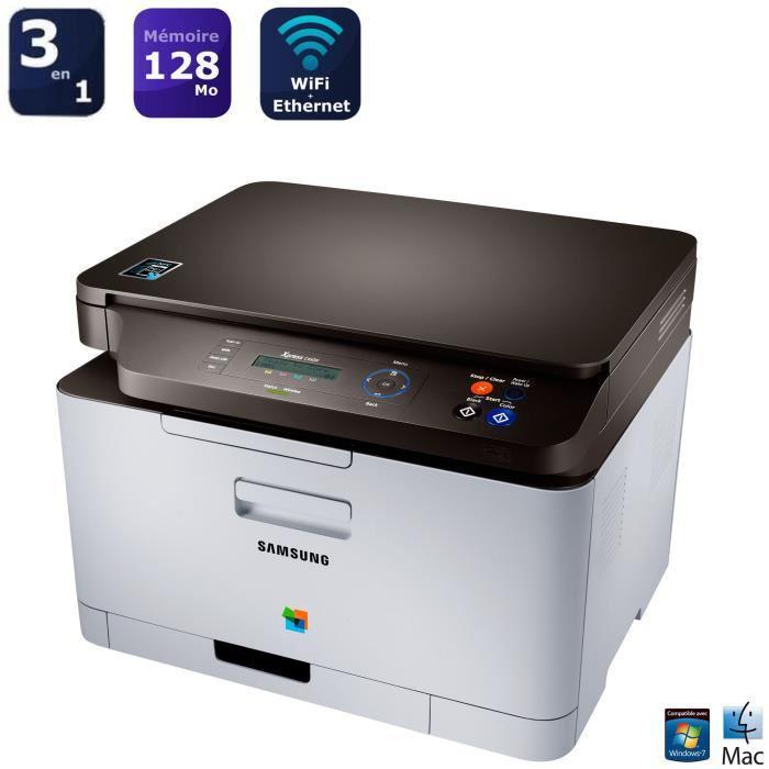 Imprimante laser couleur samsung SL-C460W (-10% Code promo / 50€ ODR / 21,59€ en Bon d'achat)