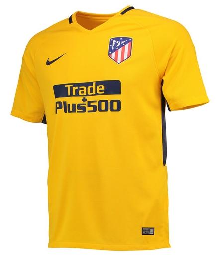 Maillot de football extérieur Nike Club Atlético de Madrid 17/18 (du S au XXL) + flocage offert