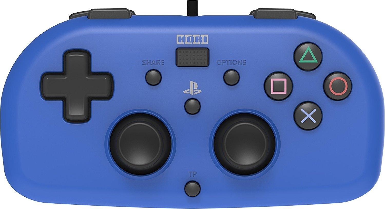 Manette de jeu Hori PS4 Mini - bleu, noir ou rouge
