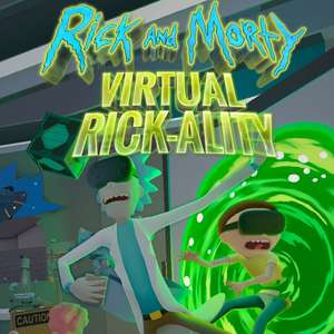 Sélection de jeux VR en promotion - Ex: Rick and Morty: Virtual Rick-ality (dématérialisé - Steam)